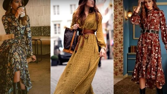 Красивые и нарядные женские платья различных фасонов и цветов — фото