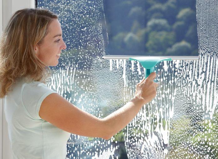 как помыть окно