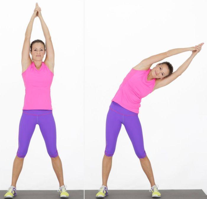 упражнения для талии и боков в домашних условиях