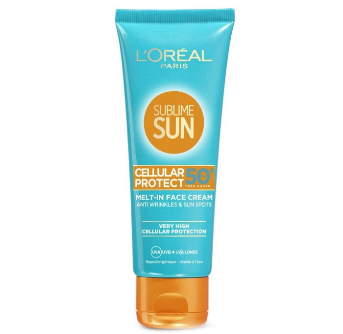 крем для лица с защитой от солнца